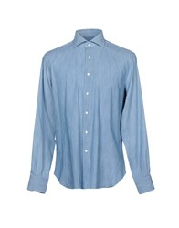 Mattabisch Denim Shirts Blue
