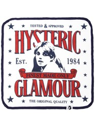 Hysteric Glamour Look Back Girl Graphic Hand Towel White