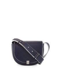 French Connection Claudia Full Flap Crossbody Bag Navy