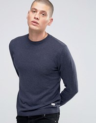 Only And Sons Fine Knit Jumper Dark Navy