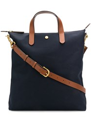 Mismo Ms Shopper Tote Bag Blue