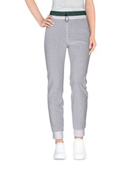 T By Alexander Wang Casual Pants White