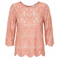 Part Two Rose Anjanette Lace Top