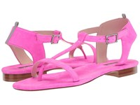 Sarah Jessica Parker Veronika Candy Pink Fluo Suede Women's Flat Shoes