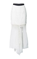 Romance Was Born Incarnation Lace Skirt White