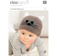 Rico Baby Classic Dk Cat Hat Knitting Pattern 202