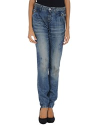 Rare Ra Re Denim Denim Trousers Women Blue
