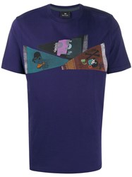 Paul Smith Ps Flags Print T Shirt 60