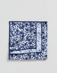 Selected Homme Pocket Square Comb 9 Dark Navy Multi