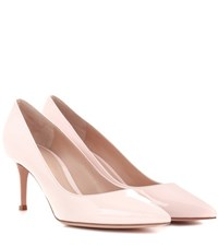 Gianvito Rossi 70 Patent Leather Pumps Pink