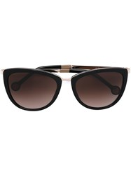 Carolina Herrera Cat Eye Sunglasses Black