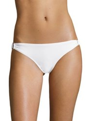 Malia Mills Summer Of Love Ring Bikini Bottom White
