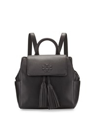 Tory Burch Thea Mini Leather Backpack Black