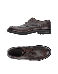 Pantanetti Lace Up Shoes Dark Brown