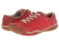 Keen Mercer Lace Ii Cnx Ribbon Red Women's Lace Up Casual Shoes