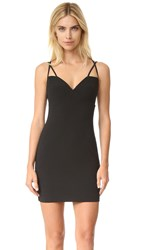 Black Halo Behati Mini Dress Black