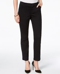 Lee Platinum Petite Straight Leg Pants Black