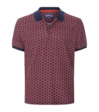 Vilebrequin Palatin Anchor Polo Shirt Male Red