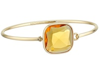 Michael Kors Botanicals Top Tension Bangle Gold Citrine Bracelet
