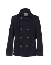 Siviglia Denim Coats And Jackets Coats Men Dark Blue
