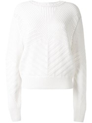 Barrie Back Cut Out Jumper 60