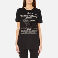 Vivienne Westwood Anglomania Women's We Don't Sell Cheap Things T Shirt Black