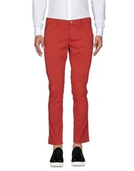 0 Zero Construction Casual Pants Red