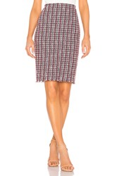Bailey 44 Laissez Faire Boucle Skirt Red