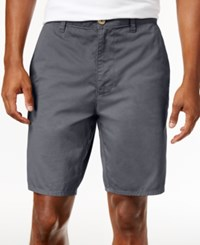 American Rag Men's Stretch Twill Shorts Only At Macy's Onyx