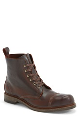 Allen Edmonds 'Normandy' Cap Toe Boot Men Brown