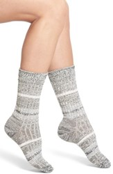 Wigwam Women's Mingle Crew Socks Black
