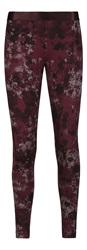 Sandwich Printed Legging Burgundy