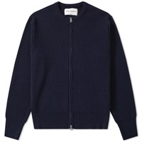 Our Legacy Splash Knit Liner Jacket Blue