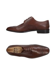 Saks Fifth Avenue Lace Up Shoes Brown