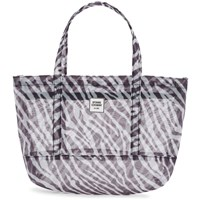 Opening Ceremony Black And White Small Mesh Chinatown Tote