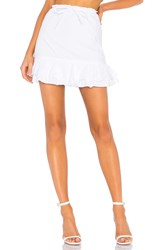 Lovers Friends Jenna Skirt White