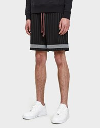 John Elliott Soccer Shorts In Black