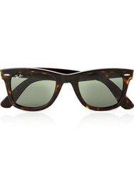 Ray Ban Wayfarer Mens Sunglasses Tortoise One Colour