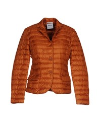 Aspesi Down Jackets Rust