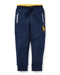Ralph Lauren Logo Embroidered Drawstring Sweatpants Size 2 4 Blue