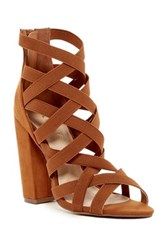 Liliana Ilyse Strappy Sandal Brown