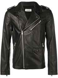 Zadig And Voltaire Lascar Biker Jacket Black