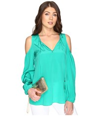 Lilly Pulitzer Finch Top Agate Green Women's Clothing