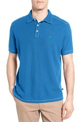 Tommy Bahama Men's Tropicool Spectator Pique Polo Download Blue