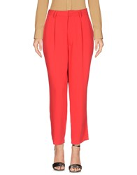 Aviu Casual Pants Red