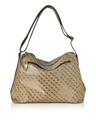 Gherardini Handbags Signature Coated Canvas Softy Shoulder Bag