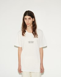 Phoebe English Archer Fires T Shirt White With Black Print