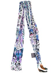 Roberto Cavalli 'Dreamcatcher' Scarf Women Silk One Size