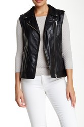 Doma Baby Barrel Ravello Leather Vest Black