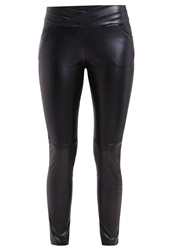 Morgan Pomy Trousers Noir Black